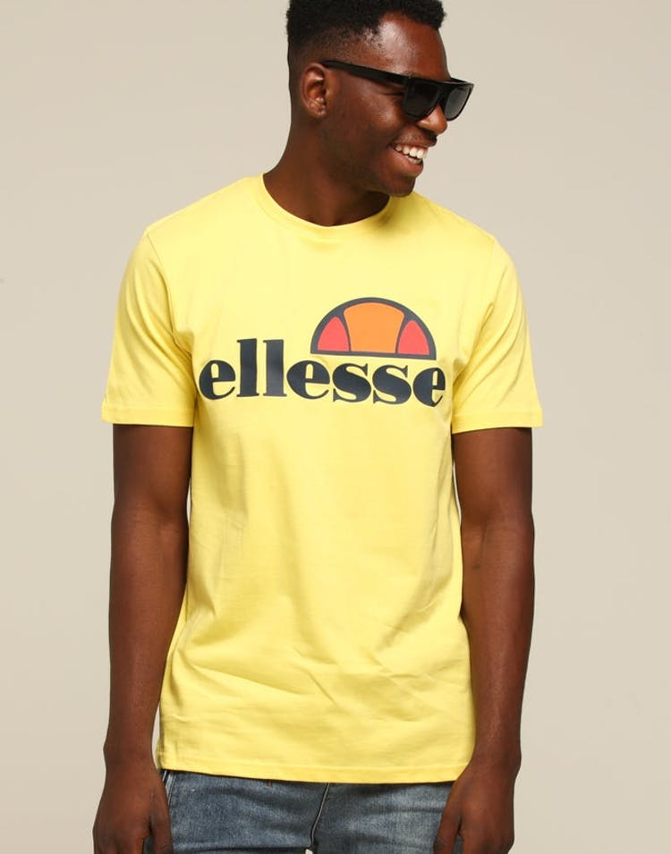 fb6376aa Ellesse Prado T-Shirt Yellow