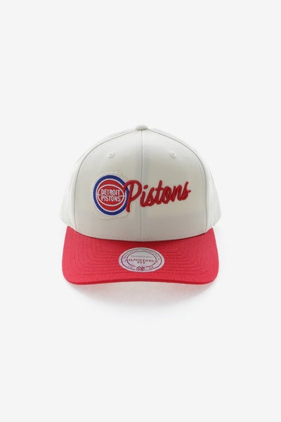Mitchell & Ness Detroit Pistons HWC Vintage 110 Snapback Vintage Off White