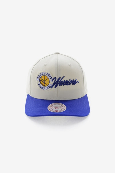 Mitchell & Ness Golden State Warriors HWC Vintage 110 Snapback Vintage Off White