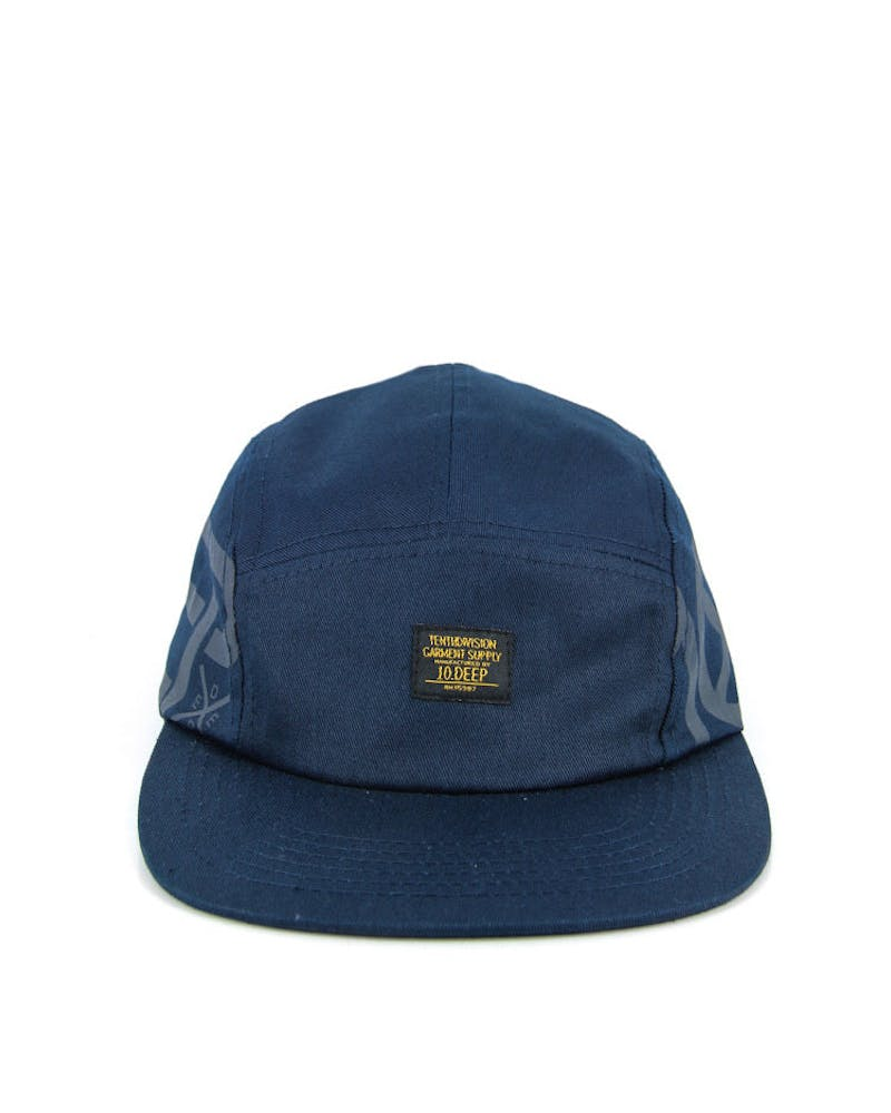 Ironsides 5 Panel Cap Navy