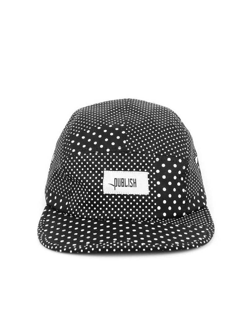Silas 5 Panel Black/white