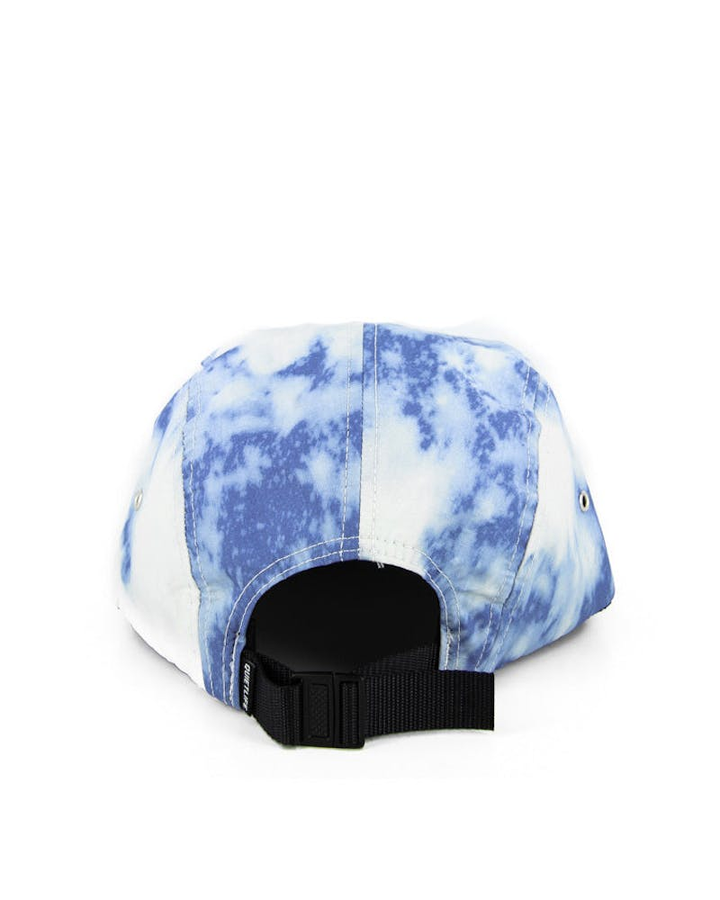 Nylon Bleach 5 Panel Royal