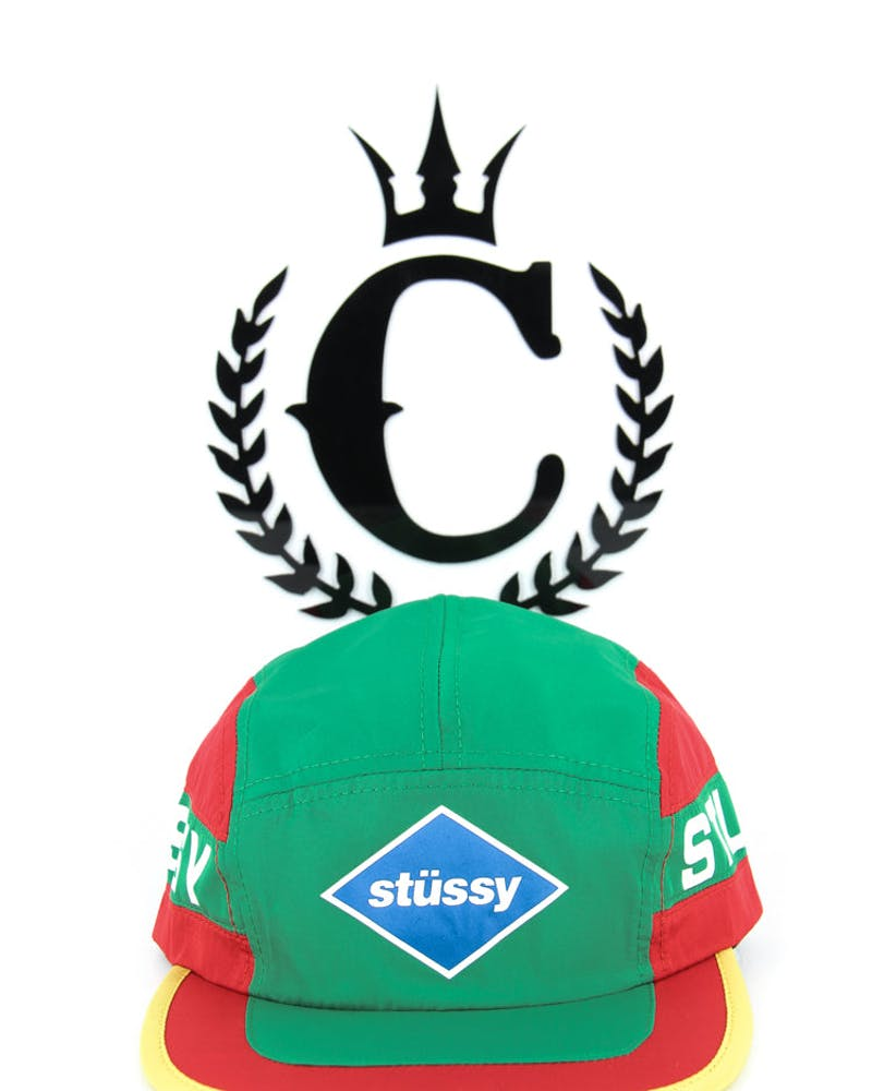 Retro Camp Cap Green/white