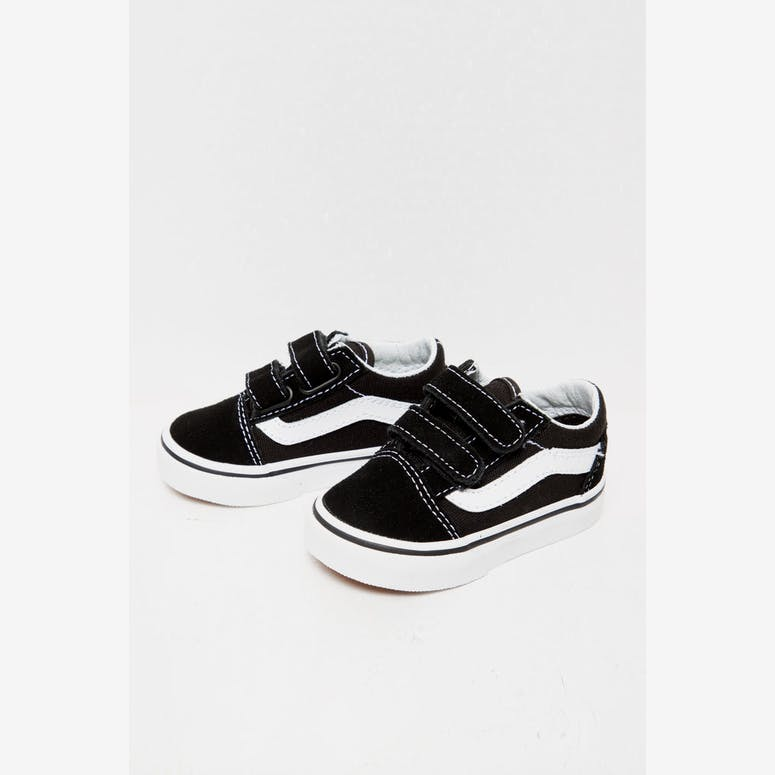 d76a40e1b9ed Vans Toddler Old Skool V Black White – Culture Kings US
