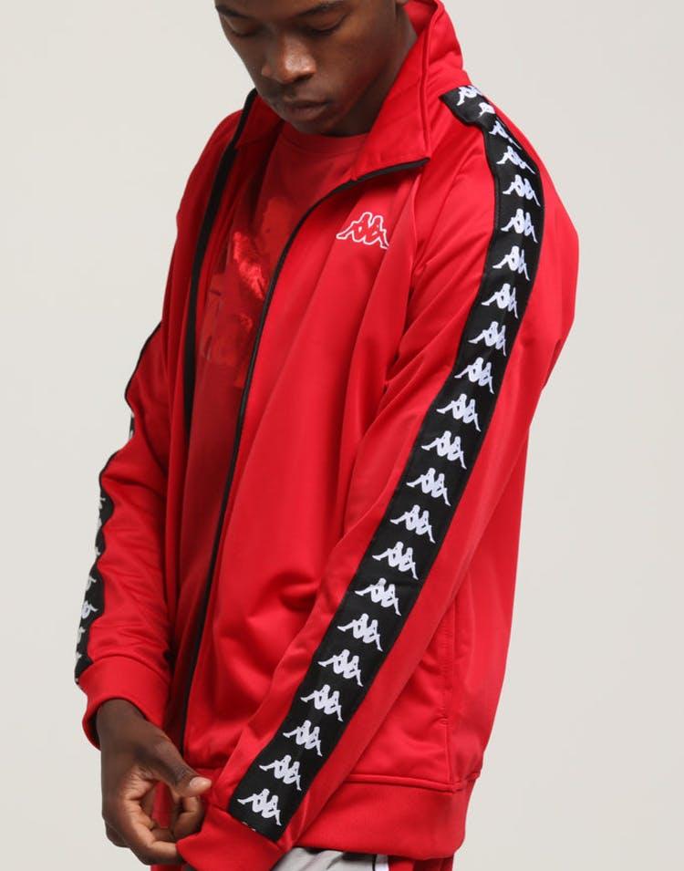 d9033cb0 KAPPA 222 BANDA ANNISTON JACKET RED/BLACK