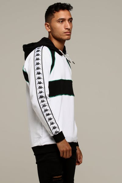 Kappa Authentic Balaia Hood White/Black
