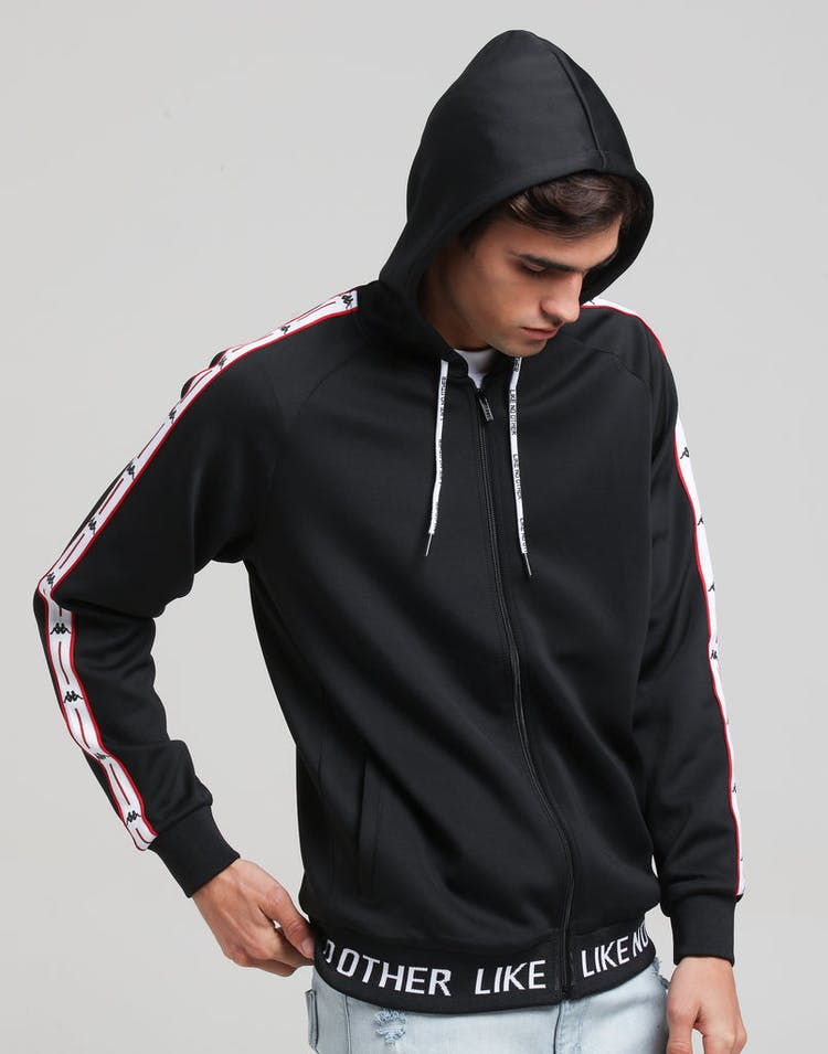 ec5fab05d6 Kappa Authentic JPN Basev Hood Black/Red/White