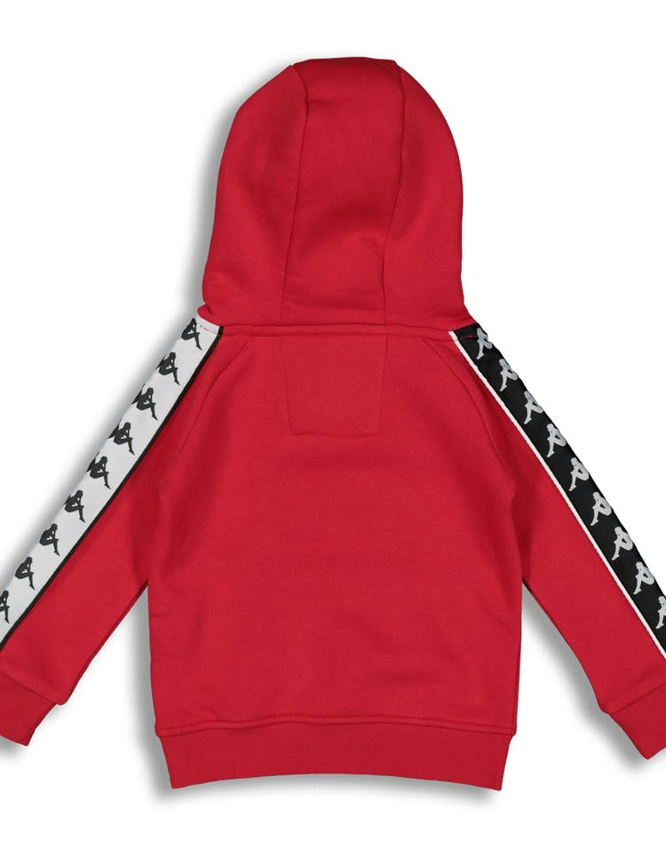 6450d7ebe0 Kappa Kids 222 Banda Hurtado Hood Red/Black/White