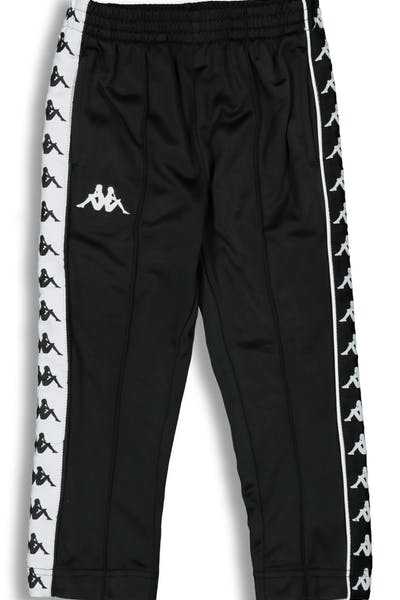 Kappa Kids 222 Banda Astoria Slim Pant Black/White