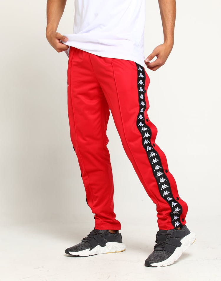 c6133f0a Kappa 222 Banda Astoria Slim Pant Red Striped Track Pant Stripe ...