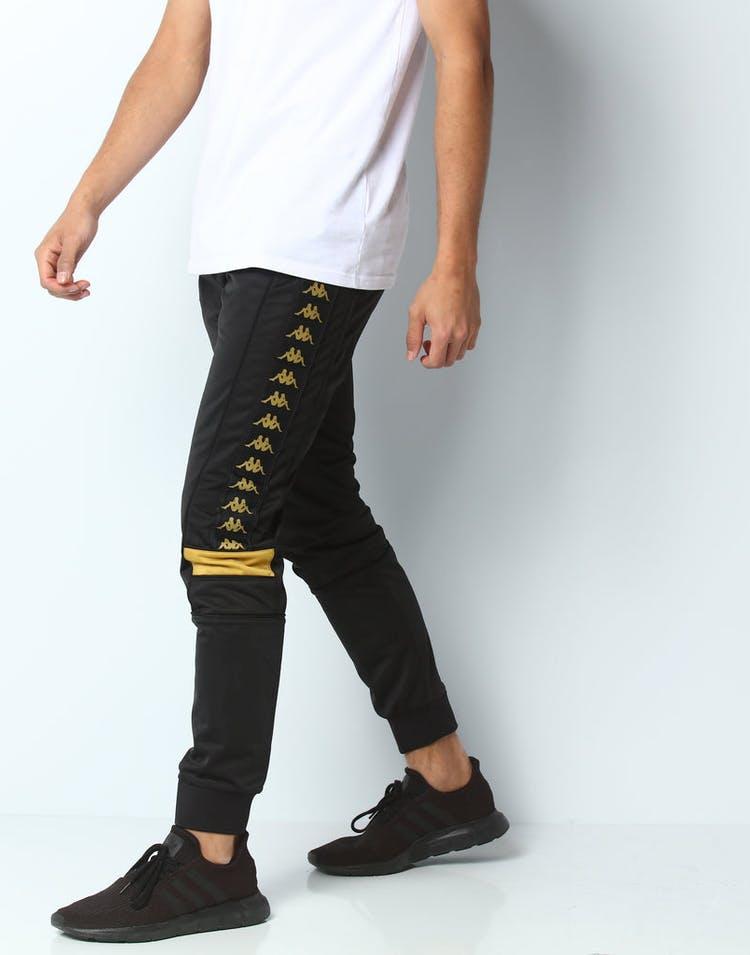 b261bf9f76 Kappa 222 Banda Mems Slim Pant Black/Gold
