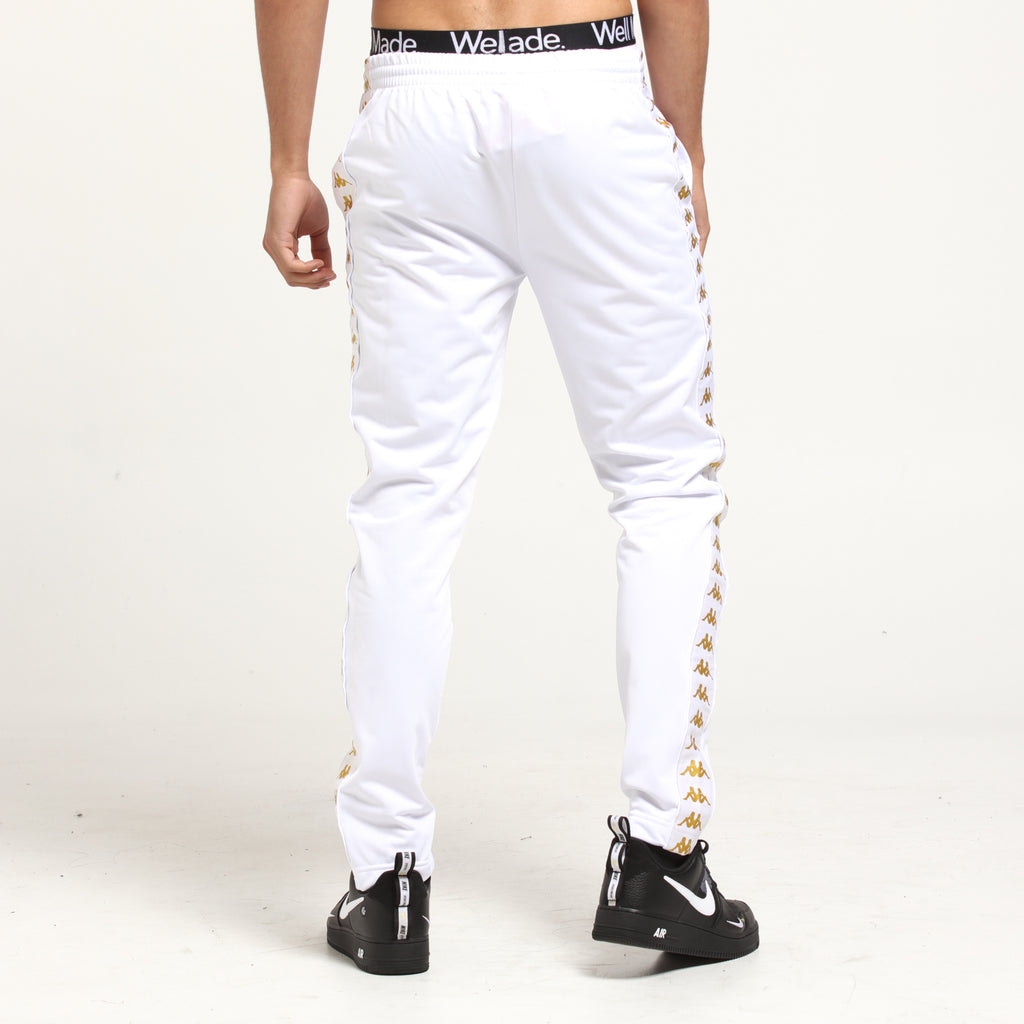 Pantalon KAPPA Rastoria slim 222 banda pants WHITEGOLD