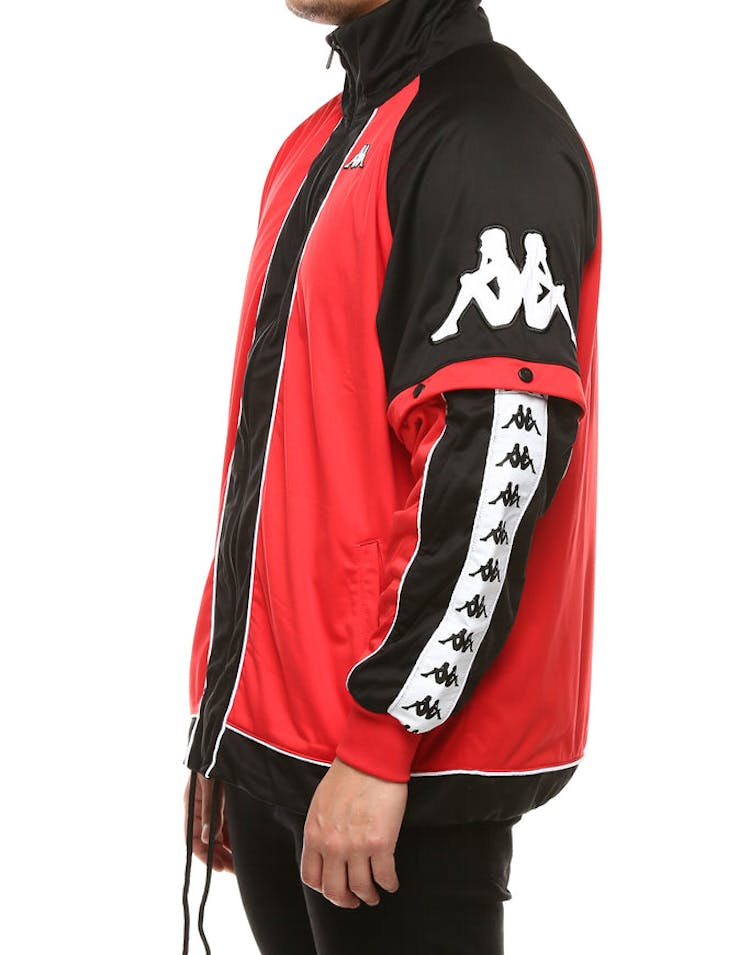 3d514421f5 Kappa 222 Banda Hunt Jacket Red/Black/White