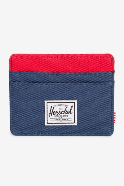 Herschel Supply Co Charlie RFID Navy/Red