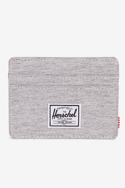 Herschel Supply Co Charlie RFID Crosshatch Light Grey