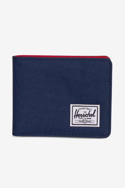 Herschel Supply Co Roy + Coin RFID Navy/Red