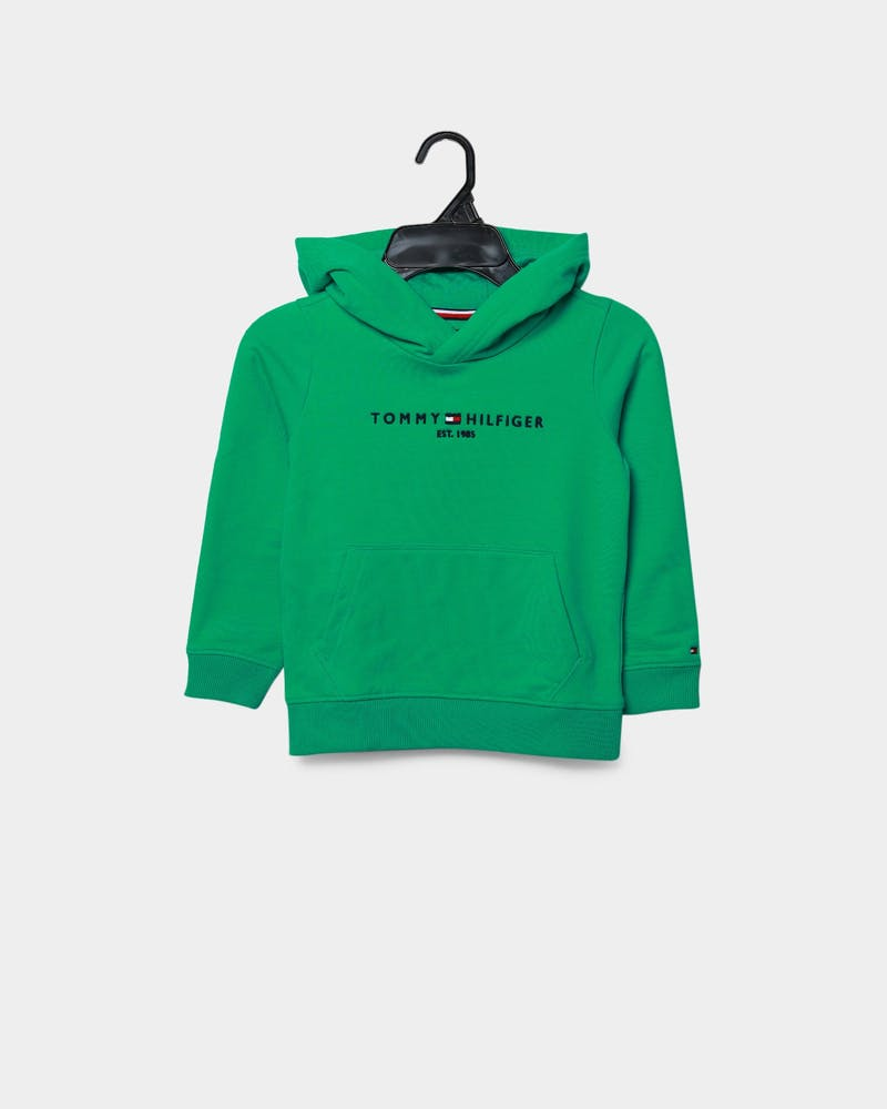 Tommy Jeans Kids Essential Hoodie Cosmic Green