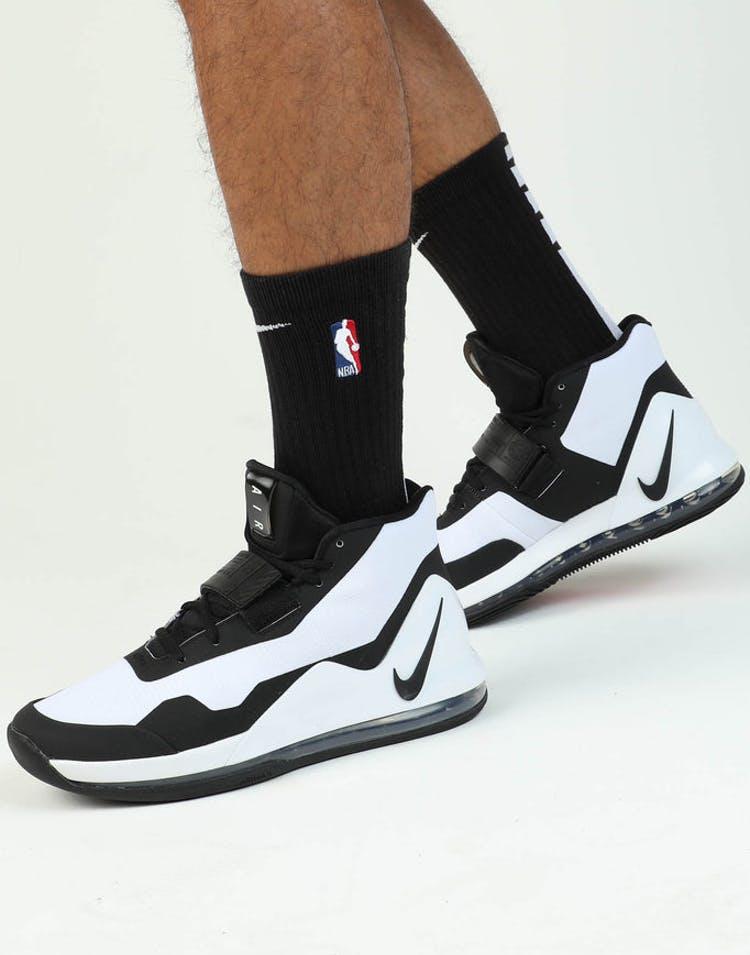 pretty nice d4379 7e2e1 Nike Air Force Max White/Black/Red