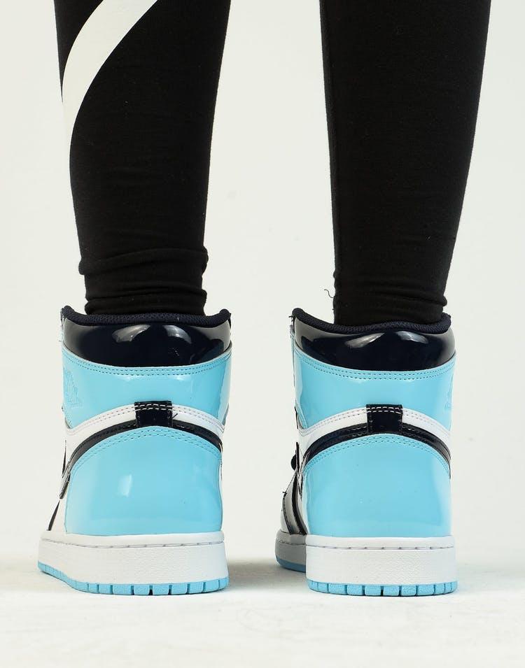 Jordan Women S Air Jordan 1 High Og Obsidian Blue White Culture