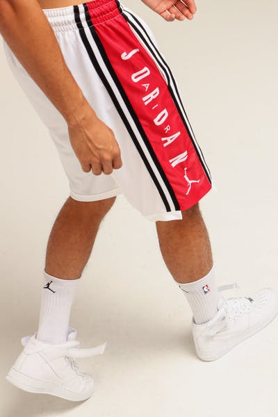 Nike Jordan HBR Basketball Short White/Red/Black