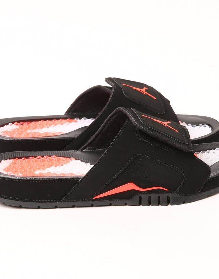 los angeles f47a5 23ab1 Jordan Hydro VI Retro Slide Black/Infrared