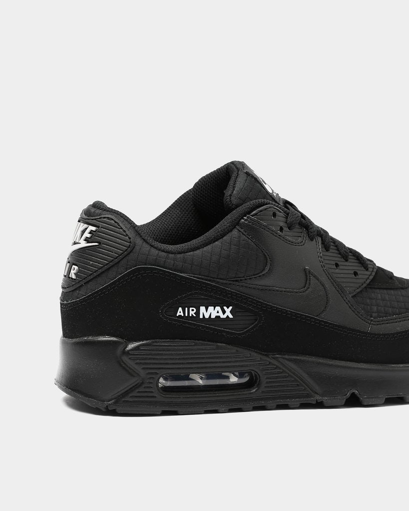 air max black white