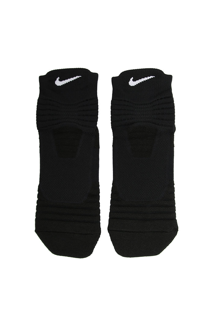 Nike Elite Versatility Mid Basketball Sock BlackWhite