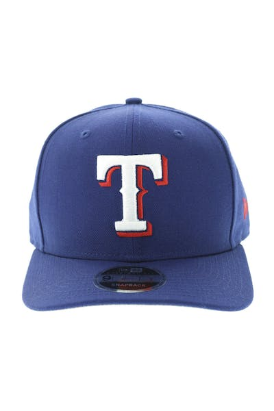 New Era Texas Rangers 950 Original Fit Precurve Snapback Royal
