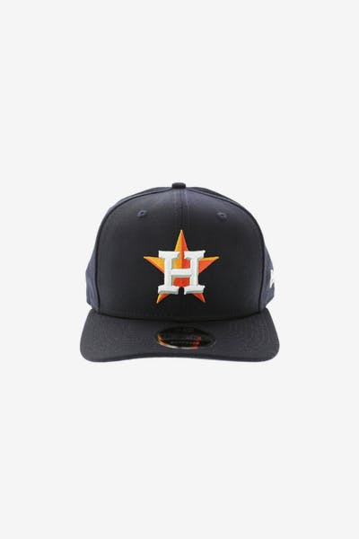 New Era Houston Astros 950 Original Fit Precurve Snapback Navy