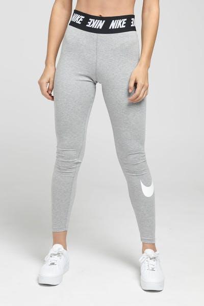 24aef60c008969 Nike Women's Sportswear Club Leggings Dark Heather/White ...