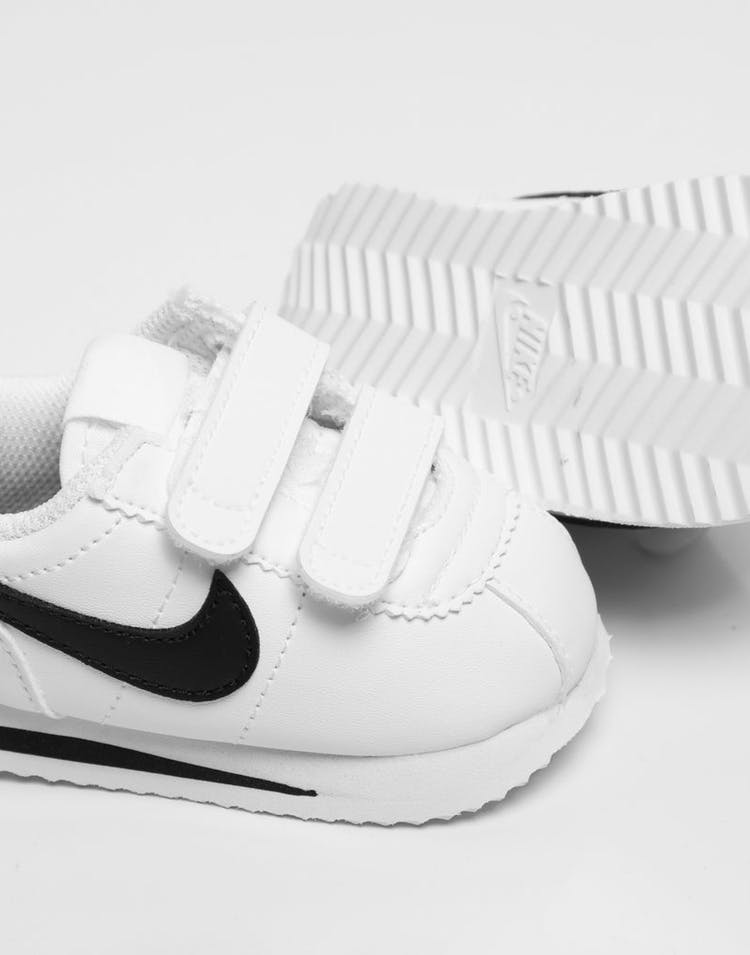 new products multiple colors outlet store sale Nike Kids Cortez Basic SL (TD) White/Black