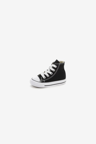 CONVERSE INFANT CHUCK TAYLOR ALL STAR HI BLACK/WHITE