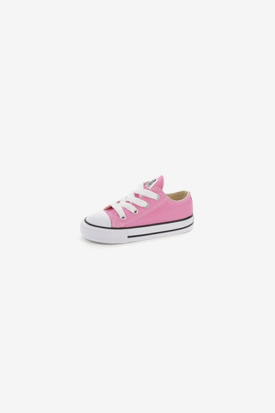 CONVERSE INFANT CHUCK TAYLOR ALL STAR LOW TOP PINK/WHITE