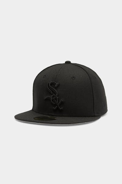 New Era White Sox 59FIFTY Fitted Black/Black