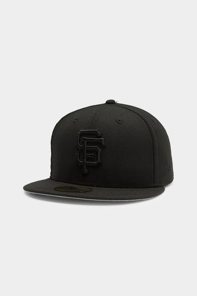 New Era Giants 59FIFTY Fitted Cap Black/Black
