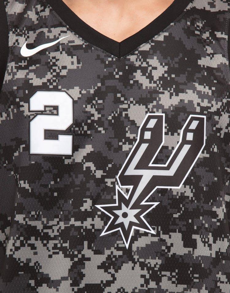 41e2890b906 Nike San Antonio Spurs #2 Kawhi Leonard City Edition Swingman Jersey Black