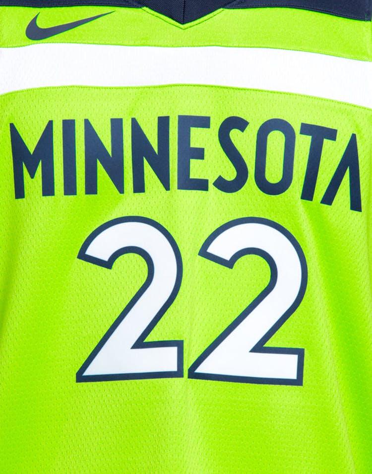 size 40 7533b 18454 Nike Minnesota Timberwolves #22 Andrew Wiggins Alternate Swingman Jersey  Green