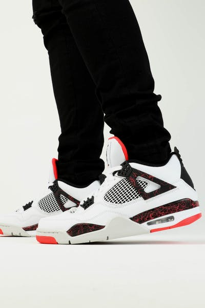 Jordan Air Jordan 4 Retro White/Black/Crimson