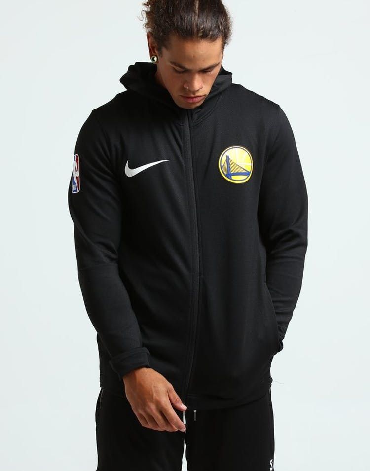 393114f604811c Nike Golden State Warriors Therma Flex Showtime Black/White ...