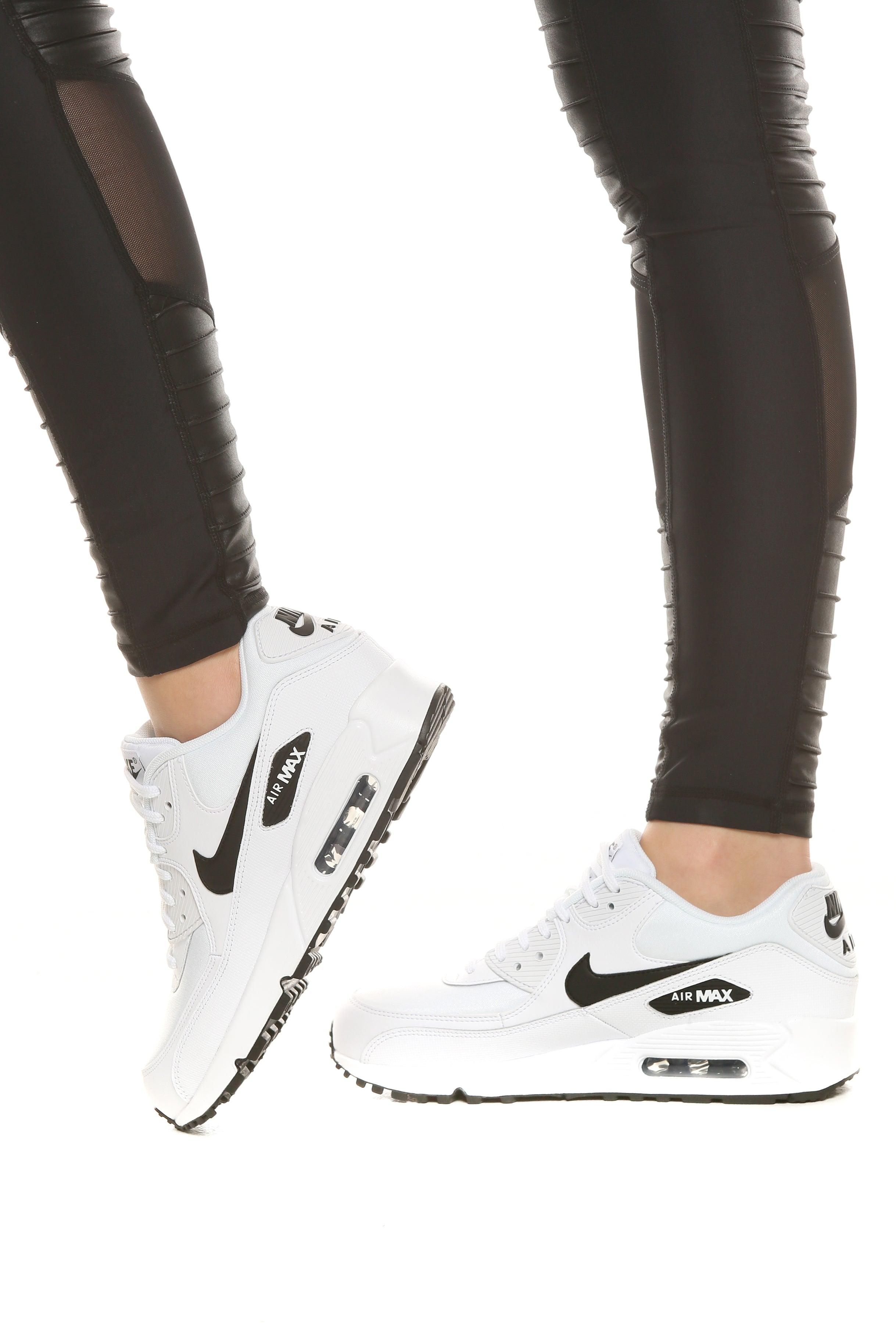 Nike Women's Air Max 90 WhiteBlack | 325213 131