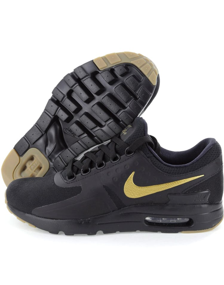 official photos 68b82 5c170 Nike Air Max Zero Essential Black/Gold