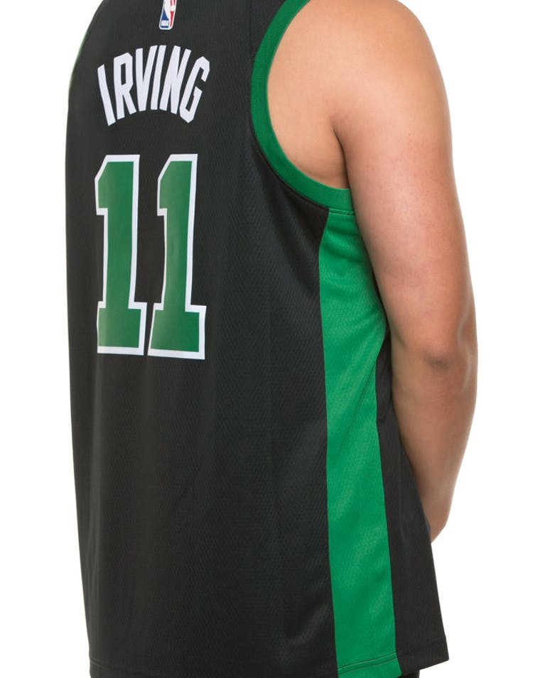 low priced b6874 2c76d Nike Kyrie Irving Statement Edition Swingman Jersey Boston Celtics  Black/Green