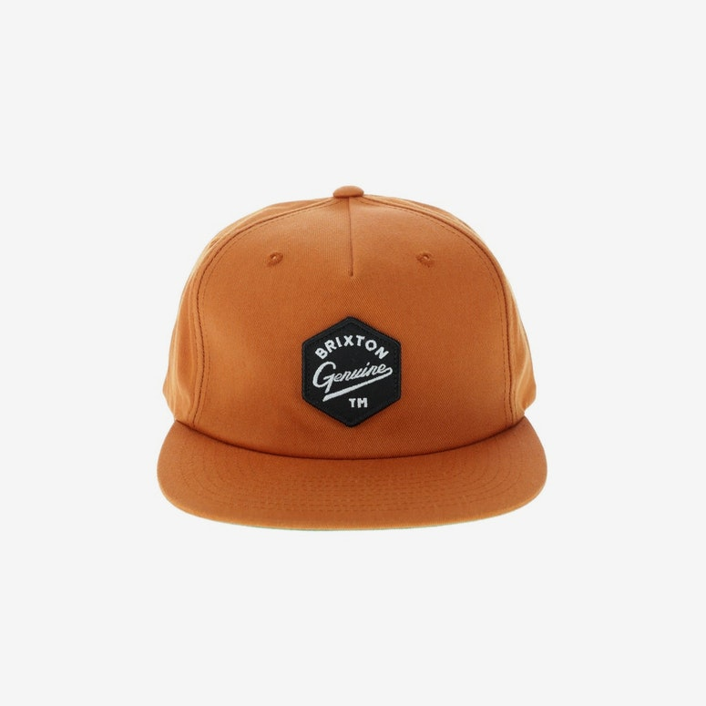 Brixton Yates Snapback Burnt Orange