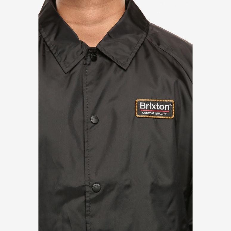 Brixton Palmer Jacket Black – Culture Kings US ee60bfb10c3