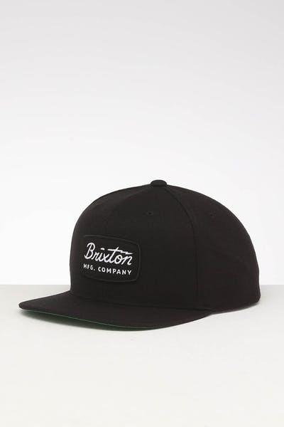 c14ba3ba Brixton Jolt Snapback Black/Black/White ...