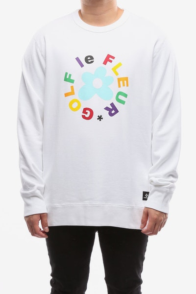 Converse Golf Le Fleur* Jumper White/Multi-Colour