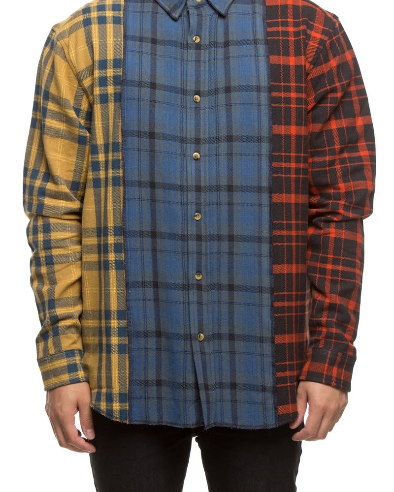 10 DEEP REFURBISHED BUTTON UP MULTI-COLOURED
