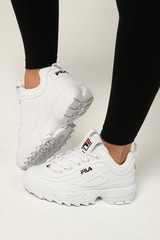 Fila Women's Disruptor II White/Navy/Red
