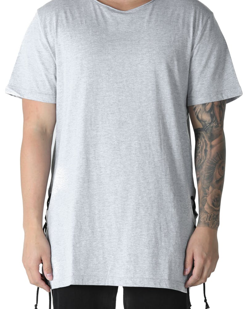 Nana Judy Chain Reaction Tee Grey Marle