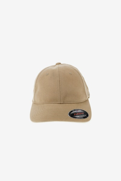 Flexfit Garment Washed Lo Pro Fitted Hat Khaki